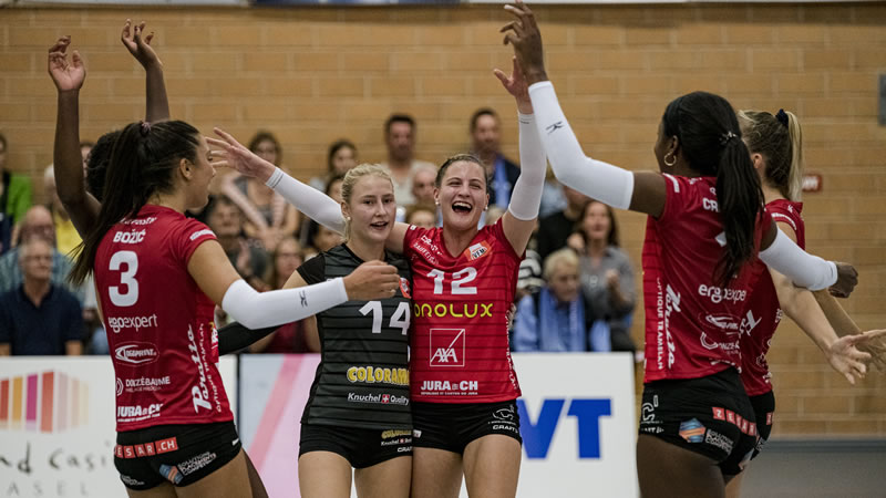 Volleyball NLA Damen: Volleyball Franches-Montagnes – VC Kanti Schaffhausen