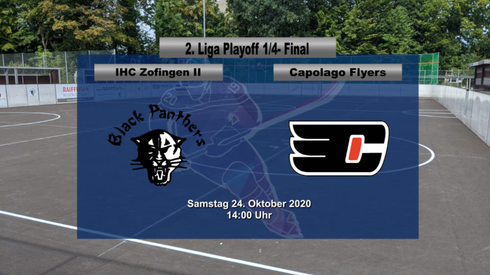 Inline Hockey 1. Liga Herren: IHC Zofingen Black Panthers – Capolago Flyers