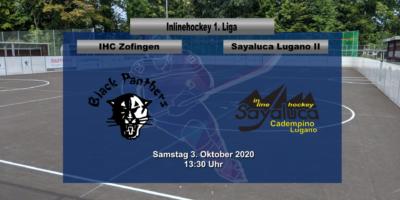 Inline Hockey 1. Liga Herren: IHC Zofingen Black Panthers - Sayaluca Cadempino Lugano