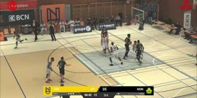 Union Neuchâtel Basket vs. BBC Monthey-Chablais - Game Highlights