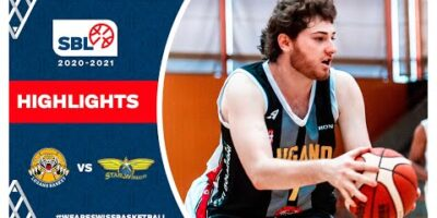 SBL 20/21 Highlights - Lugano Tigers vs Starwings Regio Basket
