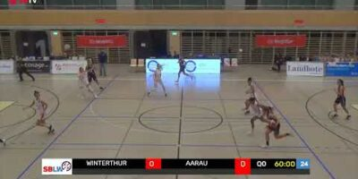 SB League Women - Day 9: WINTERTHUR vs. AARAU