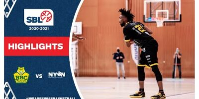 SBL 20/21 Highlights - BBC Monthey-Chablais vs BBC Nyon