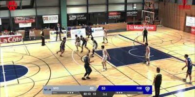 BBC Nyon vs. Fribourg Olympic - Game Highlights