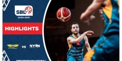 SBL 20/21 Highlights - Starwings Basket vs BBC Nyon