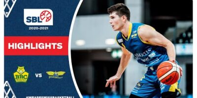 SBL 20/21 Highlights - BBC Monthey-Chablais vs Starwings Basket