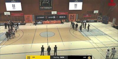 Union Neuchâtel Basket vs. Lugano Tigers - Game Highlights