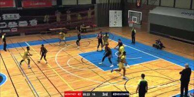 BBC Monthey-Chablais vs. Union Neuchâtel Basket - Game Highlights