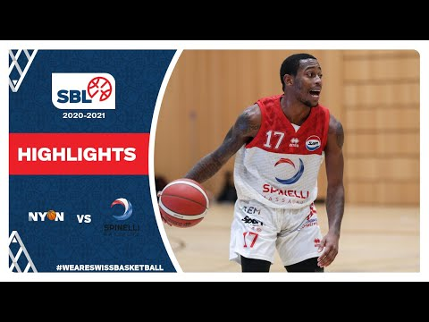 BBC Nyon vs. Spinelli Massagno – Game Highlights