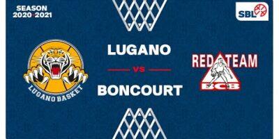 SB League - Day 15: LUGANO vs. BONCOURT