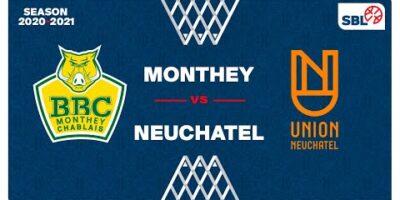 SB League - Day 14: MONTHEY vs. NEUCHATEL