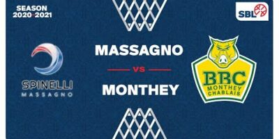 SB League - Day 17: MASSAGNO vs. MONTHEY