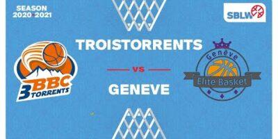 SB League Women - Day 9: TROISTORRENTS vs. GENEVE