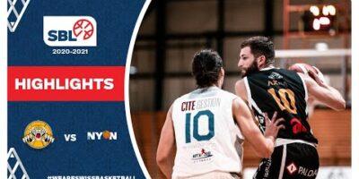 SBL 20/21 Highlights - Lugano Tigers vs BBC Nyon