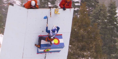 Ouray Ice Festival - Finals, Ouray (USA)