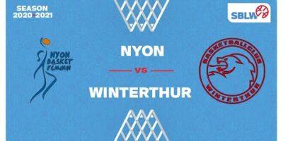 SB League Women - Day 8: NYON vs. WINTERTHUR