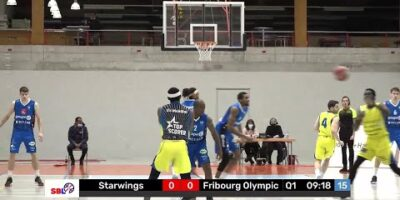 Starwings Basket vs. Fribourg Olympic - Game Highlights