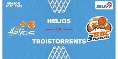 SB League Women - Day 17: HELIOS vs. TROISTORRENTS