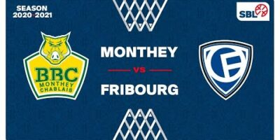 SB League - Day 18: MONTHEY vs. FRIBOURG
