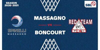 SB League - Day 17: MASSAGNO vs. BONCOURT