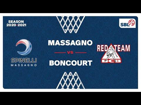 SB League – Day 17: MASSAGNO vs. BONCOURT