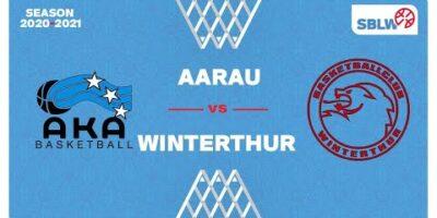 SB League Women - Day 17: AARAU vs. WINTERTHUR