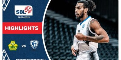 SBL 20/21 Highlights - BBC Monthey-Chablais vs. Fribourg Olympic