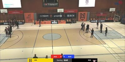 Union Neuchâtel Basket vs. BC Boncourt - Game Highlights