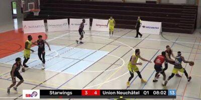Starwings Basket vs. Union Neuchâtel Basket - Game Highlights