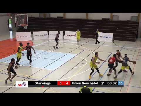 Starwings Basket vs. Union Neuchâtel Basket – Game Highlights