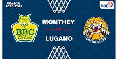 SB League - Day 17: MONTHEY vs. LUGANO