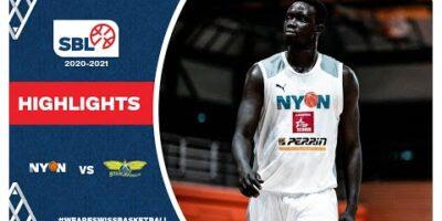 SBL 20/21 Highlights - BBC Nyon vs. Starwings Basket
