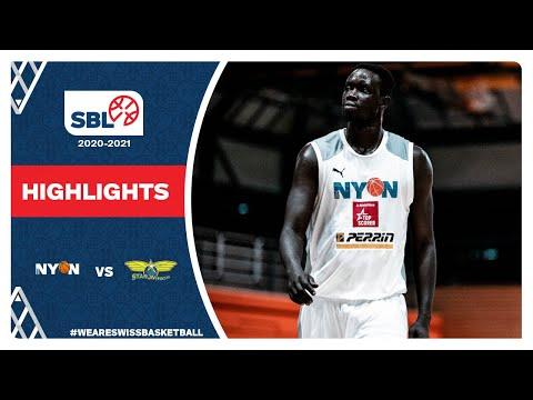 SBL 20/21 Highlights – BBC Nyon vs. Starwings Basket