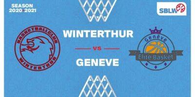 SB League Women - Day 16: WINTERTHUR vs. GENEVE