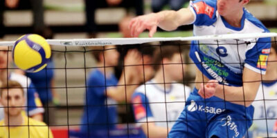 Playoff 1/2-Final, Spiel 3: LINDAREN Volley Amriswil - Lausanne UC