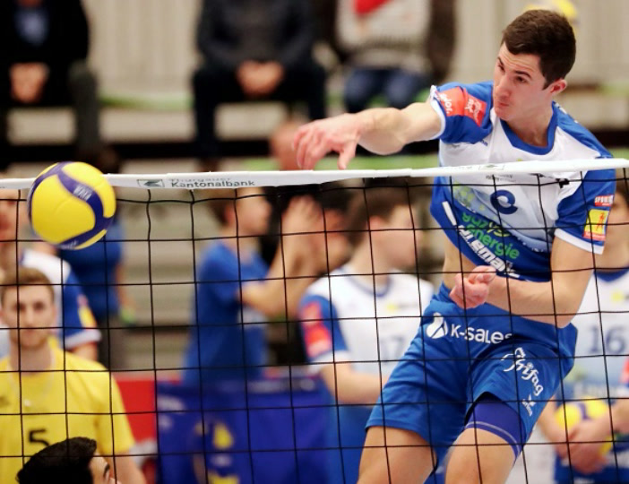 Playoff 1/4-Final, Spiel 3: LINDAREN Volley Amriswil – LINDAREN Volley Luzern