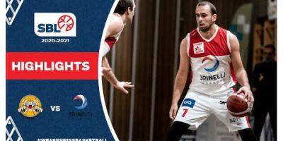 SBL 20/21 Highlights - Lugano Tigers vs. Spinelli Massagno