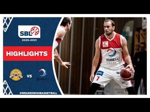 SBL 20/21 Highlights – Lugano Tigers vs. Spinelli Massagno