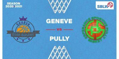 SB League Women - Day 15: GENEVE vs. PULLY