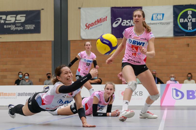 Volleyball Cup 1/2-Final: Sm'Aesch Pfeffingen – VC Kanti Schaffhausen