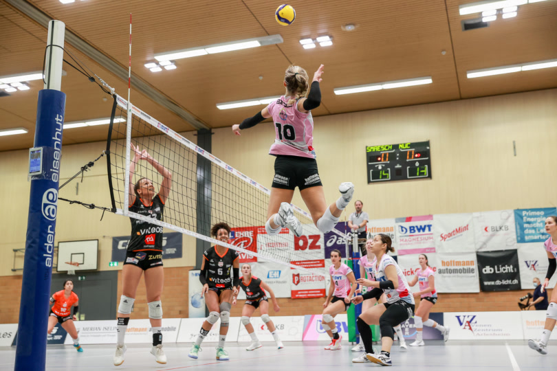 Playoff 1/4-Final, Spiel 3: Sm'Aesch Pfeffingen – Volley Toggenburg