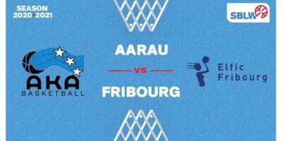 SB League Women - Day 15: AARAU vs. FRIBOURG