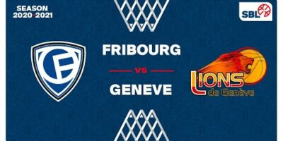 SB League - Day 17: FRIBOURG vs. GENEVE