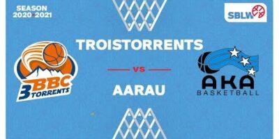 SB League Women - Day 16: TROISTORRENTS vs. AARAU
