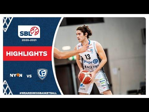BBC Nyon vs. Fribourg Olympic – Game Highlights