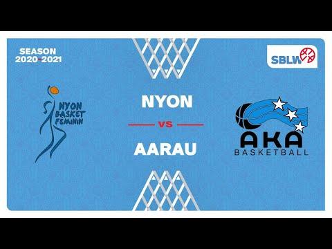 SB League Women – Day 20: NYON vs. AARAU