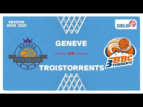 SB League Women – Day 20: GENEVE vs. TROISTORRENTS
