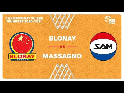 U17 NATIONAL M – Day 4: BLONAY vs. MASSAGNO