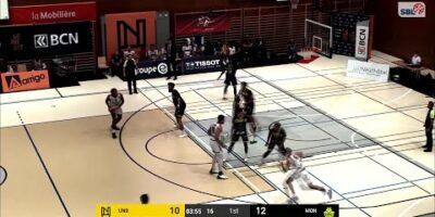 Union Neuchâtel Basket vs. BBC Monthey-Chablais - Game Highlights