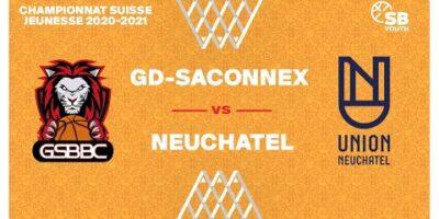 CSJC U20M : GRAND-SACONNEX vs. NEUCHÂTEL
